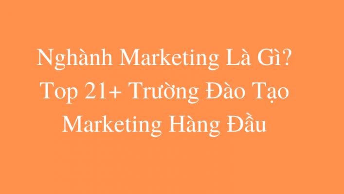 Nghành Marketing